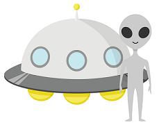 未来からやって来た宇宙人ミライ