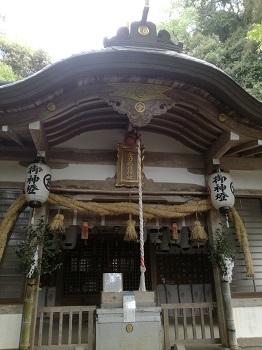 金刀比羅神社の拝殿