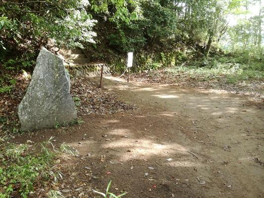 サムハラ神社奥の宮 旧跡地の場所