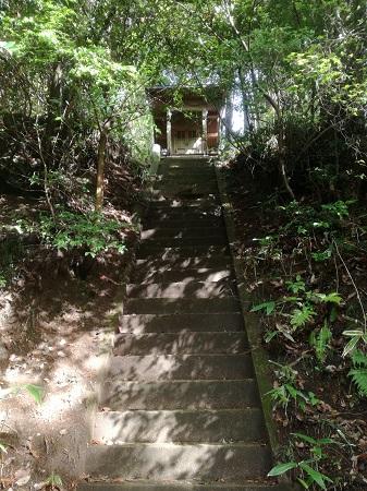 サムハラ神社奥の宮 旧跡地