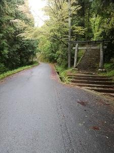 サムハラ神社 岡山のアクセス2