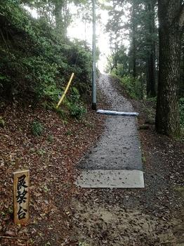 サムハラ神社奥宮 展望台の行き方
