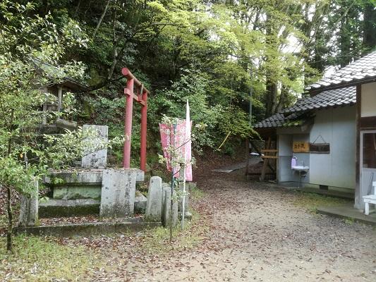 サムハラ神社奥の宮の行き方