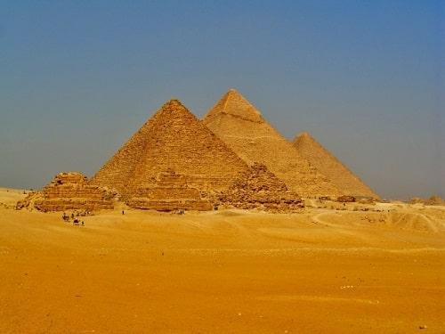 ピラミッドの霊視