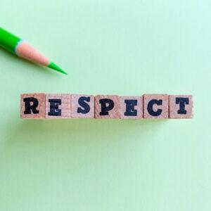 礼儀や敬意